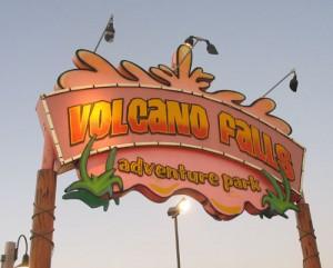 It's Volcano Falls!