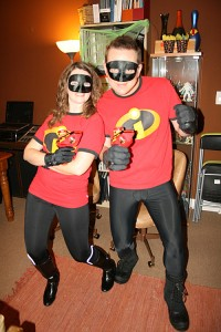 Amy & Steve strike a Pixar pose