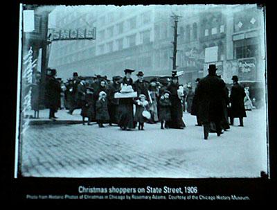 Vintage State Street Christmas photo