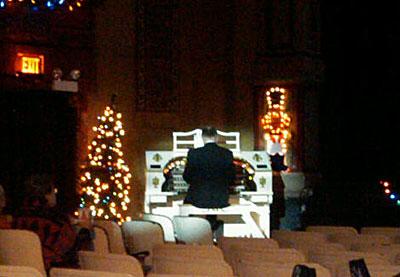 Live organ music!