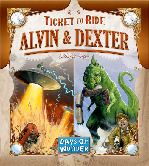 Ticket to Ride - Alvin & Dexter Expansion