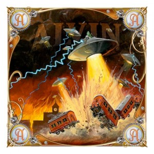 Artwork from Alvin card