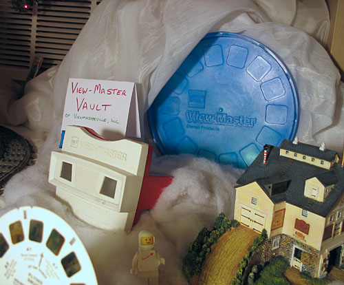 Old View-Master reels are stored in the Vault