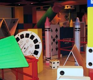 Oversized View-Master reel at Walt Disney World