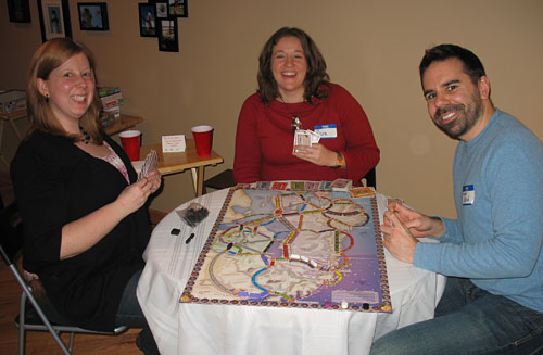 A Night of Ticket to Ride