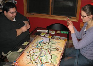 Nick & Catherine fight for territory in TtR Switzerland