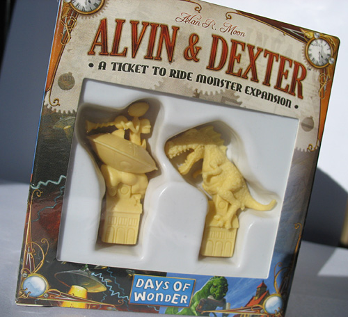 Ticket to Ride Alvin & Dexter
