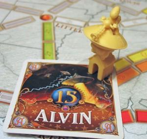 Alvin's 15-point Bonus Card
