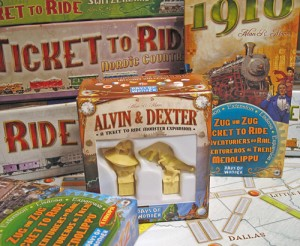 The box is small vs. others in the Ticket to Ride family