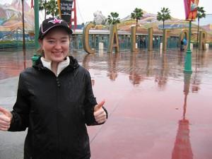 Amy loves Disney's California Adventure