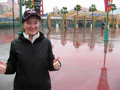 Amy loves Disney's California Adventure