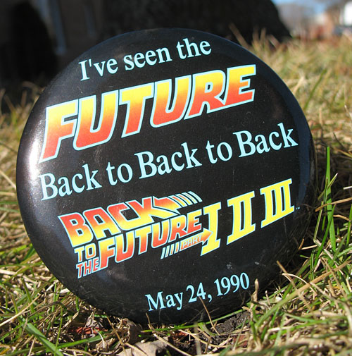 Button from 1990 Trilogy showing