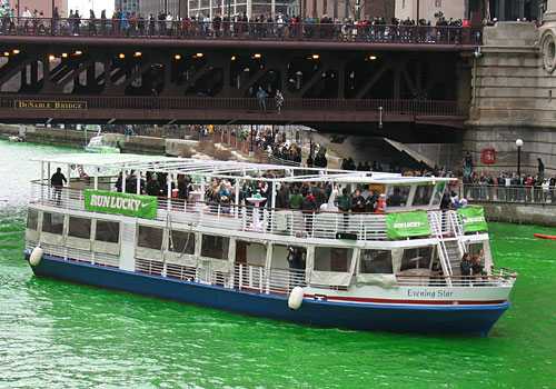 River tours cut through the green