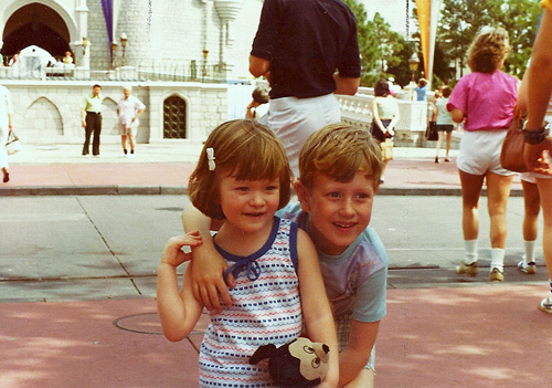 Amy & Greg at the Magic Kingdom (1979)
