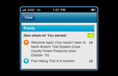 Foursquare Check-In reveals it's time to ride again!