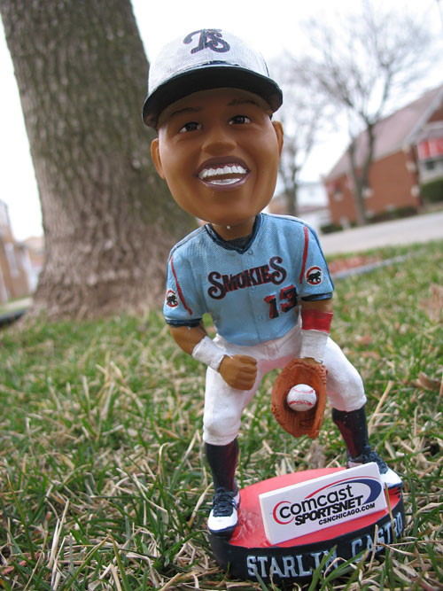 Starlin Castro Bobblehead Day