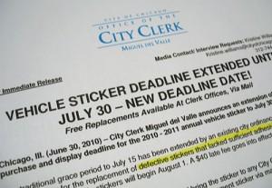 City Clerk's office extends deadline