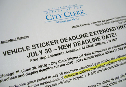 City Clerk's office extends deadline