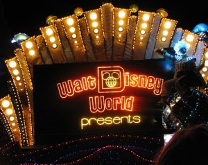 Vintage WDW Logo on SpectroMagic (2009)