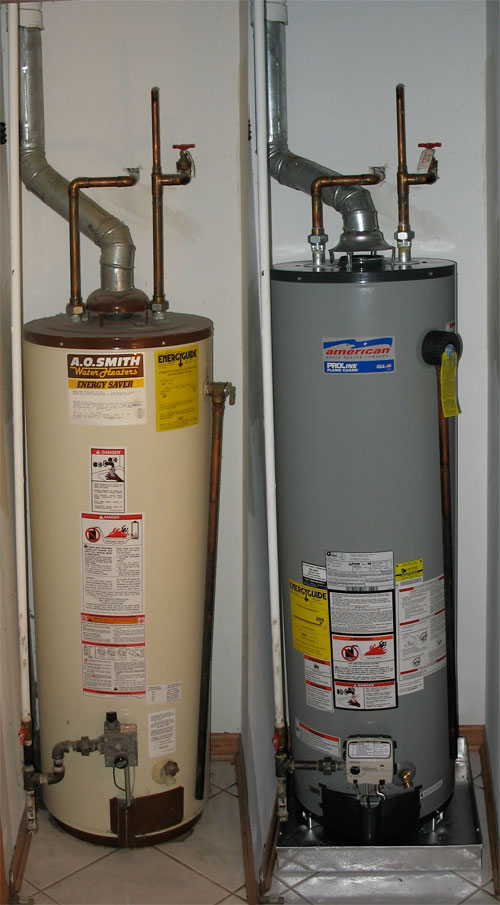 Hot Water Heater: Before & After