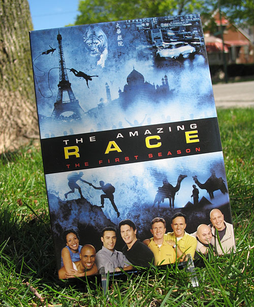 First season of The Amazing Race on DVD