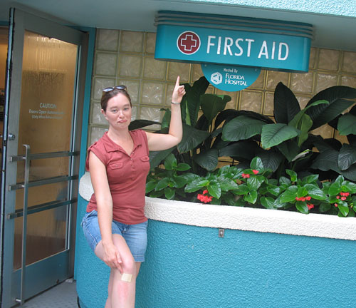 Amy gets First Aid (2007)