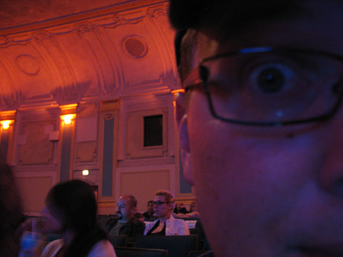 Steve watches the movie... really!