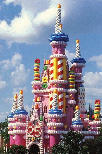 Final Result: Castle Cake