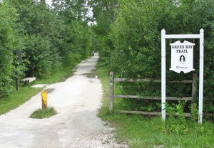 Green Bay Trail trailhead