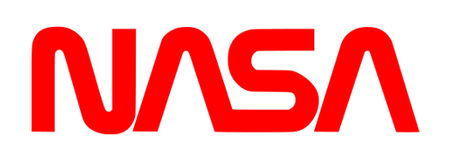 "NASA ""Worm"" logo (1975-1992)"