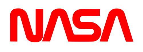 """NASA """"Worm"""" logo (1975-1992)"""