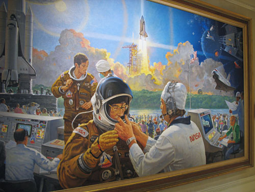 Space Shuttle History in Epcot (2007)
