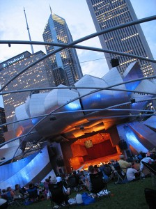 Live from the Jay Pritzker Pavilion