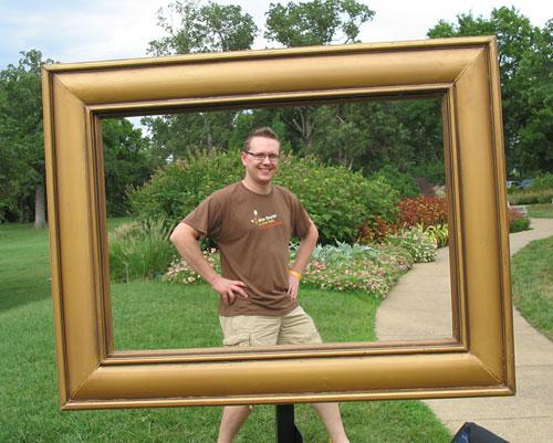 Steve is framable!