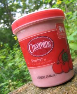 Ooh! Cheerwine Sherbet!