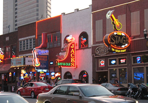 Jack's Bar-B-Que in Downtown Nashville