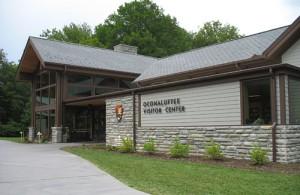 Brand new Oconaluftee Visitor Center