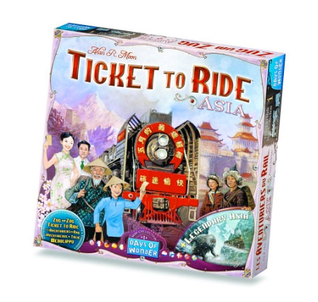 Ticket to Ride Map Collection #1 Asia