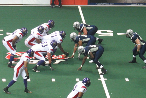 New Orleans Voodoo vs. Chicago Rush