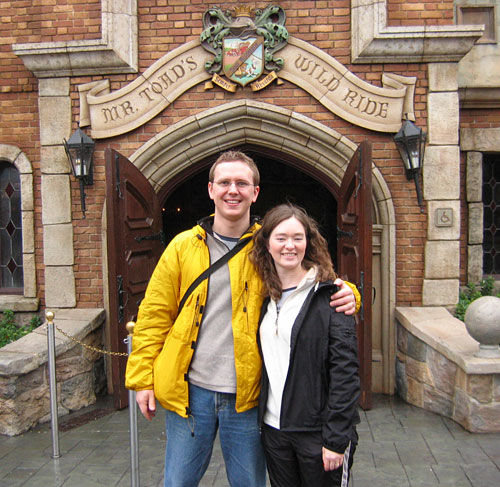 Steve & Amy ride Mr. Toad once again! (2005)