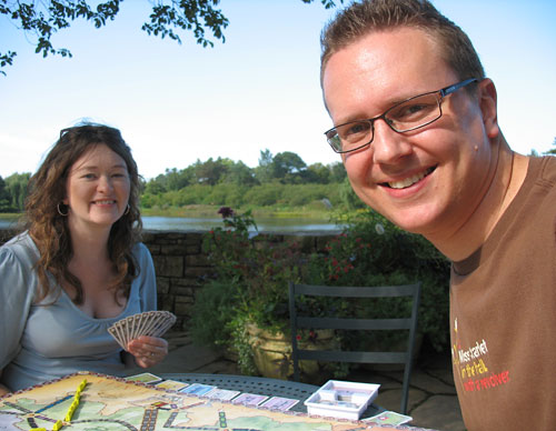 Ticket to Ride at the Botnaic Gardens!