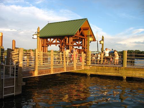 Wilderness Lodge Dock (2007)
