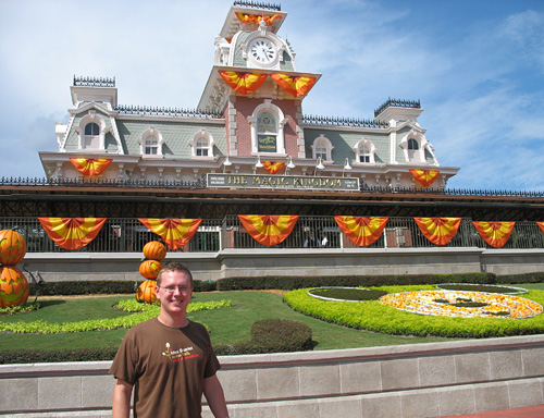 Steve at Main Street Station (2007)
