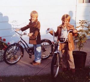 Steve & Dan in 1981
