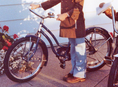 Closer look at my cruiser bike