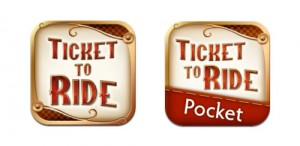 iOS versions of Ticket to Ride