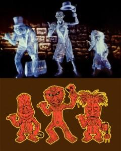 Compare: Hitchhiking Ghosts vs. Freaky Tiki Trio