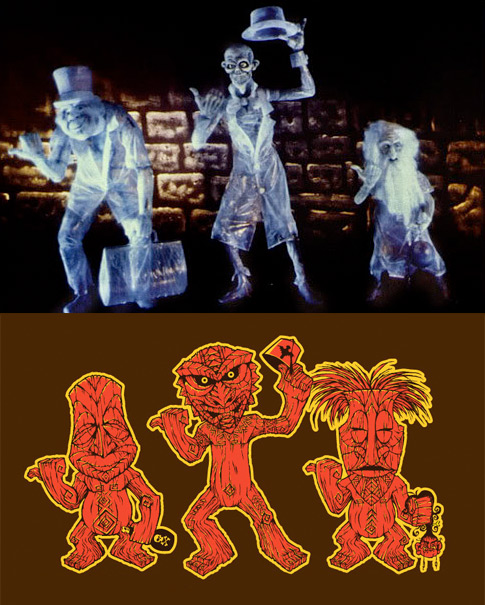 Compare: Hitchhiking Ghosts vs. Freaky Tiki Trio