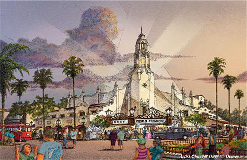 Carthay Circle Theater Concept Art