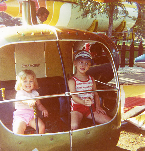 Karen & Steve at Santa's Village (1983)